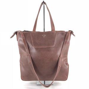 MATT & NAT Vegan Faux Leather Work Tote Handbag